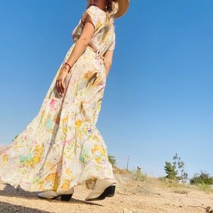 Daughters of the Revolution Floral Maxi Dress